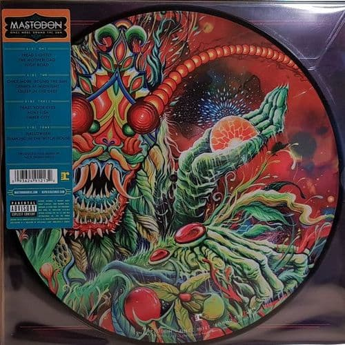 Mastodon<br>Once More 'Round The Sun<br>2LP, Picture Disc, RP